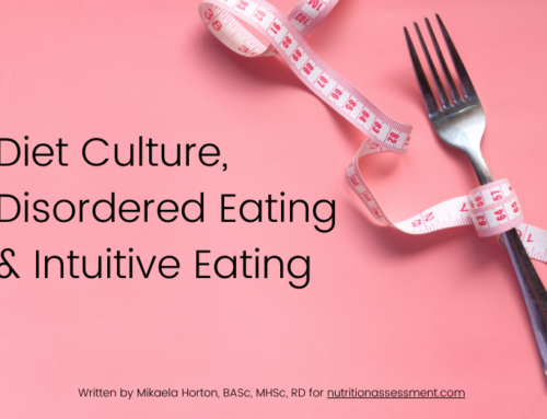 Diet Culture, Disordered Eating, & Intuitive Eating