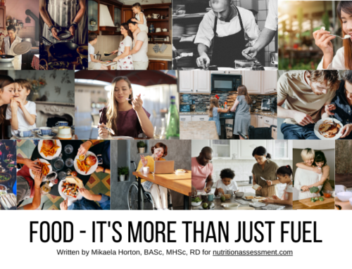 Food – It's More Than Just Fuel