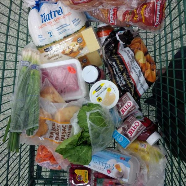 Cart of groceries | Nutrition Assessment Clinic